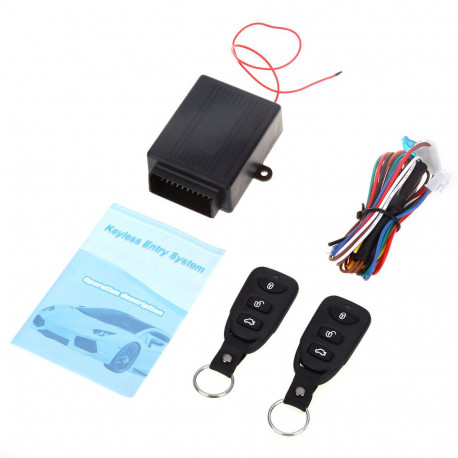 433 92MHz Universal Car Vehicle Remote Central Kit Door Lock Unlock  Electric Lock and Air Lock Window Up Keyless Entry System - JR  international /
