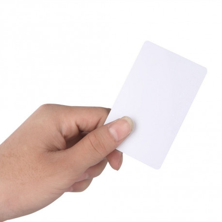 RFID Card 13.56Mhz ISO14443A MF S50 Re-writable Proximity Smart Card NFC Card 0.8mm Thin For Access Control System