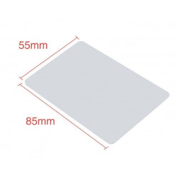 RFID Card 13.56Mhz ISO14443A MF S50 Re-writable CLONE Proximity Smart Card NFC Card 0.8mm Thin For Access Control System