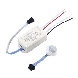 Switch 220V IR Infrared Module Body Sensor Intelligent Light Lamp Motion Sensing Switch Adjustable Movement Sensing PIR Switch