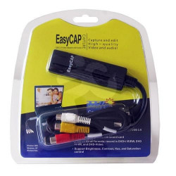 Usb 2.0 video audio grabber easy cap per la digitalizzazioen audio e video attraverso un interfaccia usb 2.0