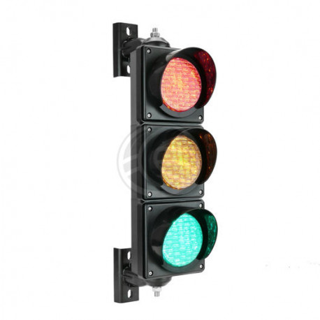 Outdoor traffic light IP65 3 x 100mm 220V LED green orange red SM32 semaphore lights