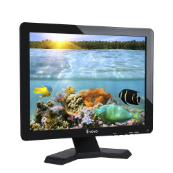 17 Zoll LCD-Monitor Panoramique1280x1024 Auflösung 4: 3 FHD 1080P HD HDMI-Video-Display BNC AV VGA USB