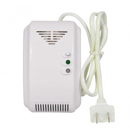 AC 220V Standalone Natural Gas Alarm Coal gas Leaking detector NC NO relay Output