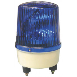Electrical rotating light 220vac 35w blue fixed rotating light light warning emergency lights warning light systems for fire pol