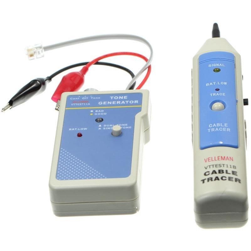 Cable tracker with tone generator - JR international