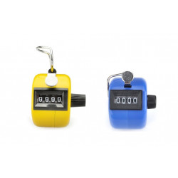 2pcs ABS Hand held Tally Counter 4 Digit Counter Buddha Numbers Clicker Golf