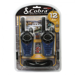 Walkie talkie 12km 446mhz 8 channel intercom radio pmr cobra mt975c (pair) intercommunication