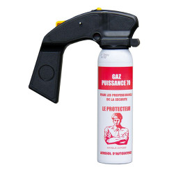 CS tear gas aerosol 70 power 100ml anti-aggression handle stun spray