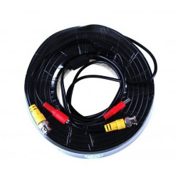 König 30 m security coax cable rg59 + dc power