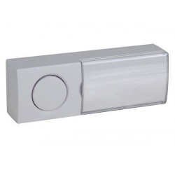Doorbell push button with illuminated name plate no