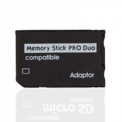 Adaptateur carte memoire ms duo vers ms cmp cardadap10 (sony memory stick)