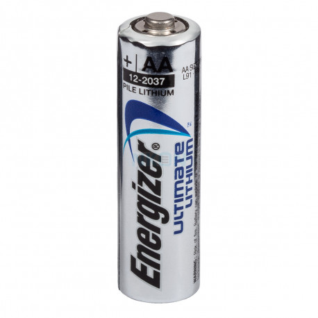 1 batteria al litio AA Energizer L91 3000 mAh 1,5v LR6 Ultimate Cute