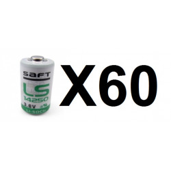 60 pcs ls14250 ls 14250 1 2aa lithium 3.6v battery new