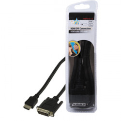 Basic digital cable video hq hqb 010 1.5 connection cable hdmi to dvi 19pins to 19pins 1.5m