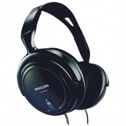 Casco stereo philips confortable ligero reglable oida calidad para pc tv musica cable 2m shp2000