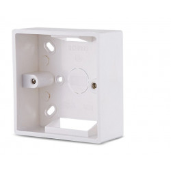 86X86 PVC Thickening Junction Box Wall Mount Cassette For Switch Socket Base Electrica