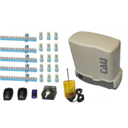 Automatic sliding gate kit 800kg basic gate motorization pack p t onekit8