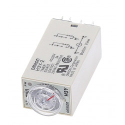 Ac 220v delay timer time relay 0~60 minute h3y-2 & base  2 no nc 5a electrical