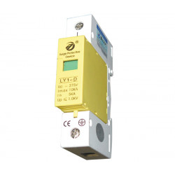 Surge electric 275v 220v din rail 1 pole surge arrester type 3 10ka ly1 d10 1p