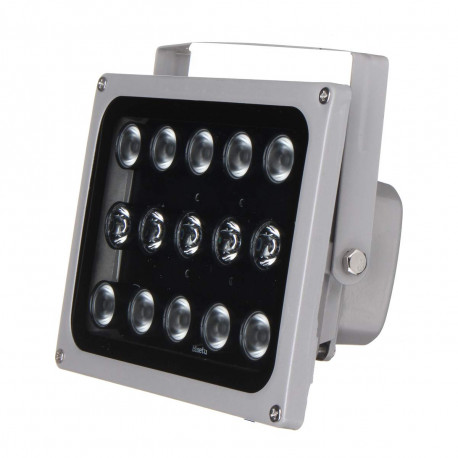 Waterproof Infrared Projector Ip65 12v 15 Led Illuminator Light Lamp Night Vision Cctv Jr International Eclats Antivols