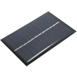 Solar Panel 6v 0.6w Battery charger for energy system supply