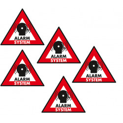 Sticker alarm system 123x148 mm