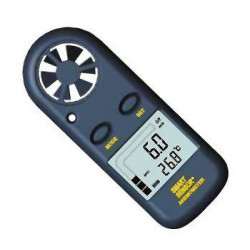 Anemometer misst windgeschwindigkeit digitale thermometer digital lcd sport anenometer am02