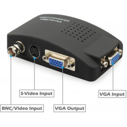 Video signal to tv converter vga signal transmitter modulator vasmon2n