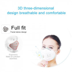 KN95 face Mask Cotton With Valve Reusable Dustproof PM 2.5 N95 Respirator Mouth KF94 Pff3 TSLM1 covid-19