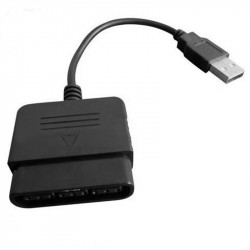Adaptateur 1 manette ps2/ps1 vers usb 2.0 equivalent gamps2 usbcon2