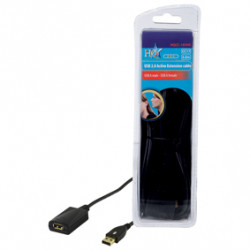 Cable usb activo 2.0 hq