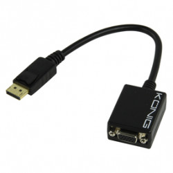 Displayport to vga cable male female