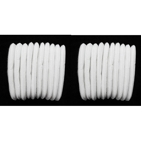 20 cotton filter 3M 5N11 Double gas breathing mask 6200 6800 7502 5N11cn gb 2626-2006 kn95 gb 2690-2009 P1 sg8100