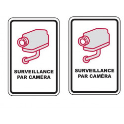 2 Cctv warning sign france