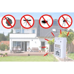 220v Electronic ultrasonic pest mosquito rodent repeller rat ultrasound mouse cockroach chips spiders ticks