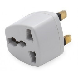 100 x Travel adapter electric adapter gb plug to european , 1a 250vac electric adapters gb plug to european , 1a 250vac electric