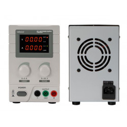 Labware 0 to 30v dc 1a 2a 3a 4a 5a max double display LED labps3005