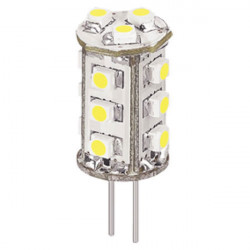 360 degree beam angle led g4 lamp corn shape 1w 12v smd3528