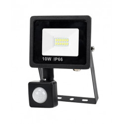 10 w 9 led projector lamp with pir sensor