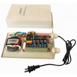 Telemetry system motorised for turret zoom converter rs432 rs485 telemetry