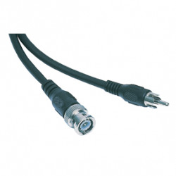 Rca cable 1.50m -461 video cable conector / enchufe bnc macho konig cable audio masculino