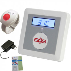 GSM 2g One-click Alarm System QUAD Band Emergency Call for help Worldwide with Intercom for Calling