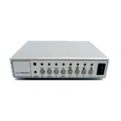 4ch color video quad processor splitter for cctv system