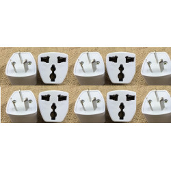 10 Travel power adapter with earth to go in china and australia new zealand