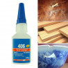 Instant glue 20gr cyanoacrylate for plastic and rubber Loctite wood paper leather or fabric