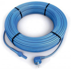 48m antifreeze electric heating cable cord aquacable-48 pipe frost protection with water hose thermostat