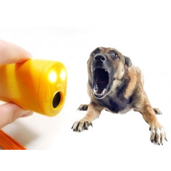 Ultrasonic pet dog repeller training device trainer dual frequency