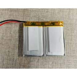 7.4v 850ma rechargeable battery for autonomous gsm alarm with sos emergency call button intercom