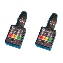 2 Tester charger electronic battery tester charger 12vdc batteries tester intelligent
